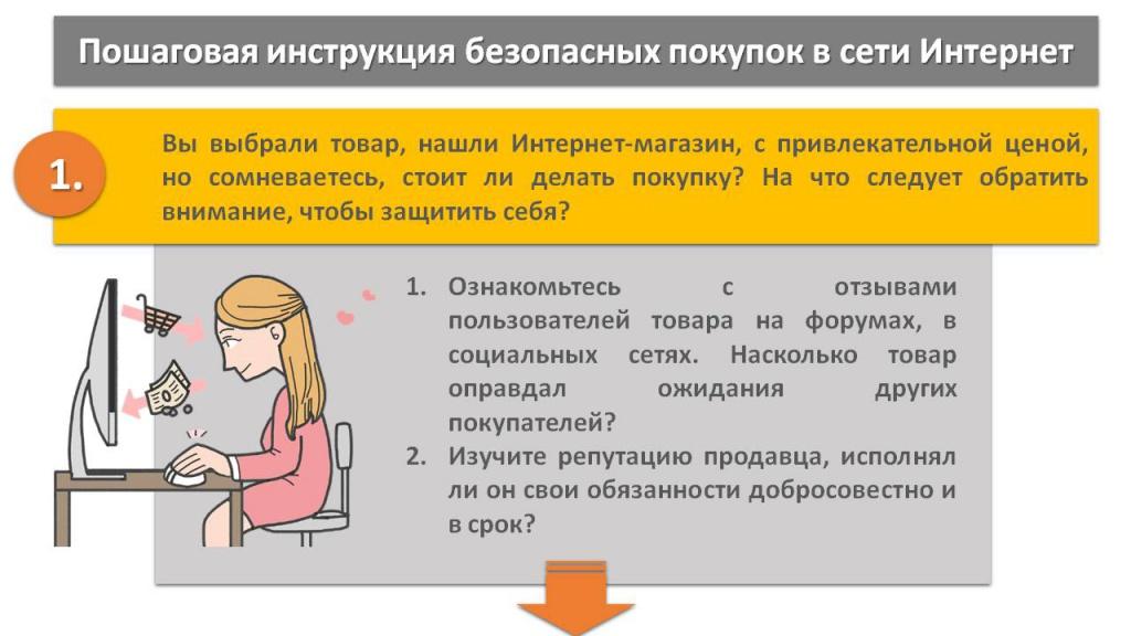 РЕКОМЕНДАЦИИ ГРАЖДАНАМ: Пошаговая инструкция безопасных покупок в Интернете